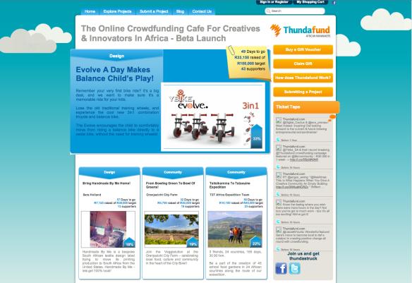 Thundafund Front Page (1)